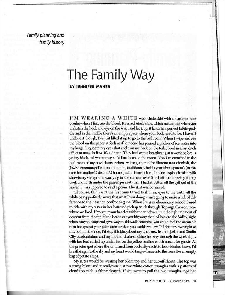 The Family Way [Article]