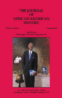 The Journal of African American History (Vol. 94, No. 1) [Book Chapter]